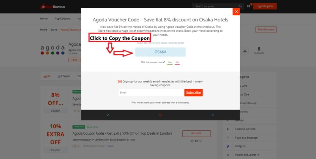 Latest Agoda Discount And Voucher Codes Kashkamao Hk
